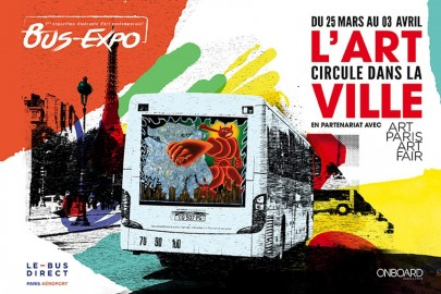 Bus Expo : Art is better than ad