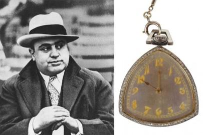 La montre du gangster Al Capone vendue aux enchères