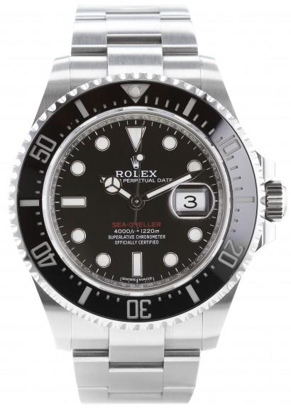Luxury Watch Rolex Sea Dweller Rouge Ref 126600 Fullset Kronos 360