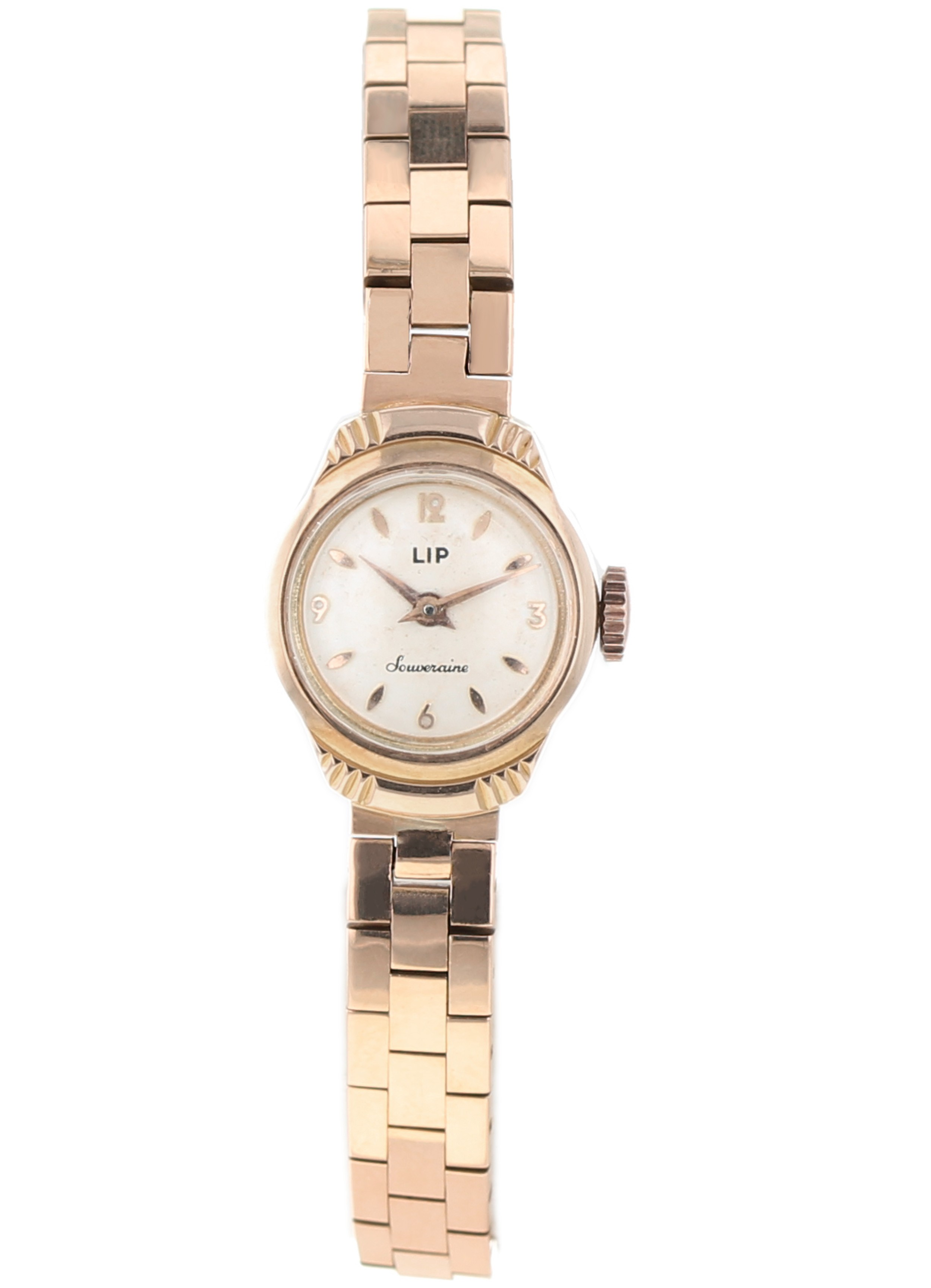 Luxury watch LIP 18k rose vintage souveraine - Kronos 360
