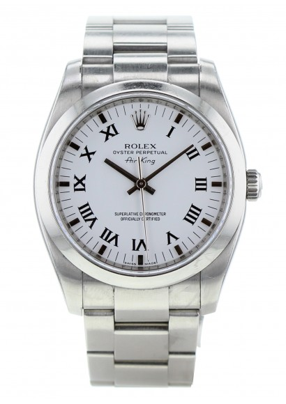 Second Hand Rolex Oyster Perpetual Air King Luxury Watch Kronos360
