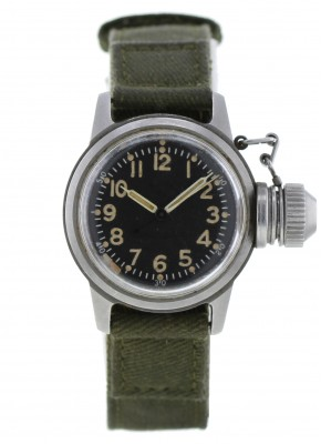 Us Buships Elgin Watch Canteen Military Diver Navy hdrxstQC