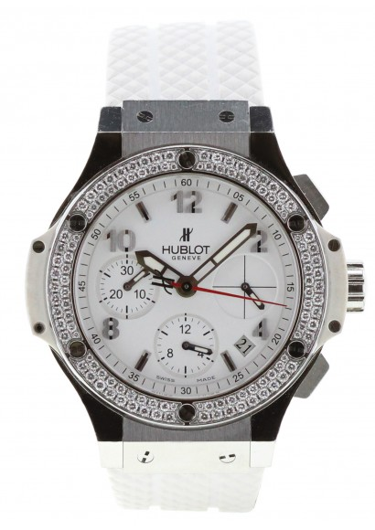 la moitié 4f13c d9356 Montre de luxe Hublot Big Bang diamants femme d'occasion - Kronos 360