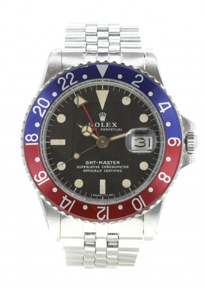 Rolex GMT Master 1675 pepsi pre owned Watch , Kronos 360
