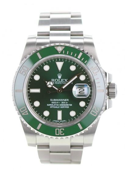 Rolex Submariner Hulk 116610LV fullset luxury watch , Kronos 360