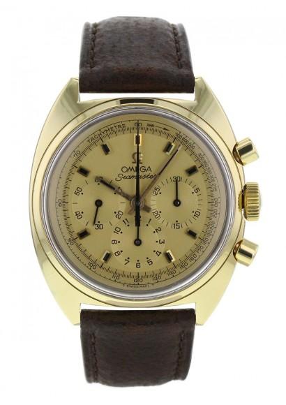 Omega Seamaster Vintage Calibre 861 Chrono 18k Ref 145 016