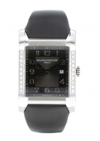 baume-&-mercier-hampton-noire-diamants