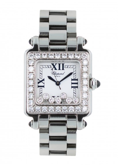 Luxury watch Chopard Happy Sport Diamants Ref 8325 - Kronos 360 c2d56efd71d