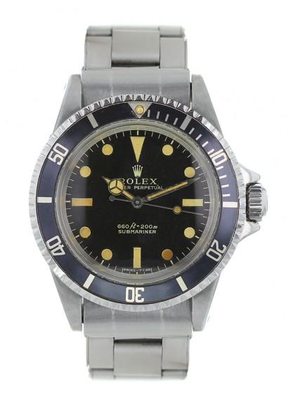6d74dd696de8 Luxury watch Rolex Submariner 5513 from 1970 - Kronos 360