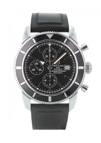 edd26858f12 BREITLING SuperOcean Heritage Chronographe - Ref A13320 Automatic - Bracelet  rubber - Steel case