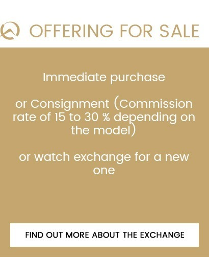 vente montre de luxe occasion