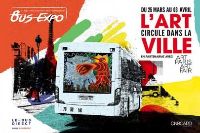 Bus Expo : quand l'art remplace la pub