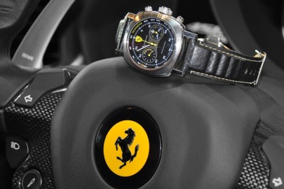 L'association de Ferrari et de la haute horlogerie
