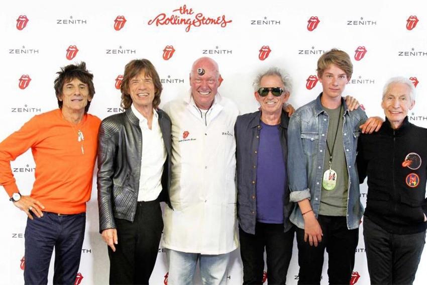 Tribute to Rolling Stones: A New Zenith El Primero 1969
